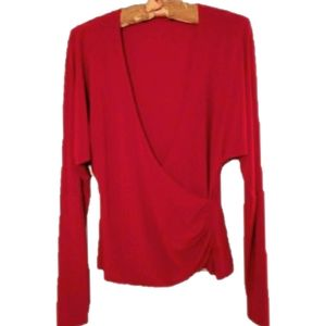 Tops - Long sleeve red top